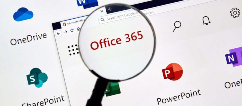 Office 365 icons