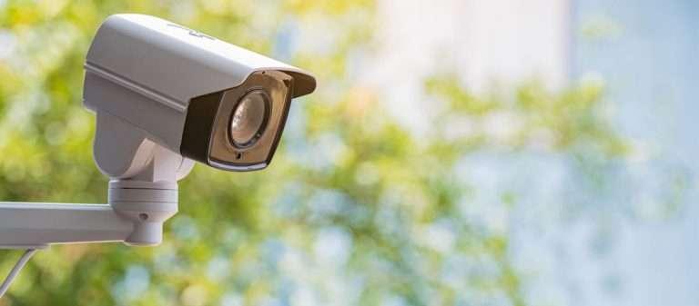 CCTV camera outside