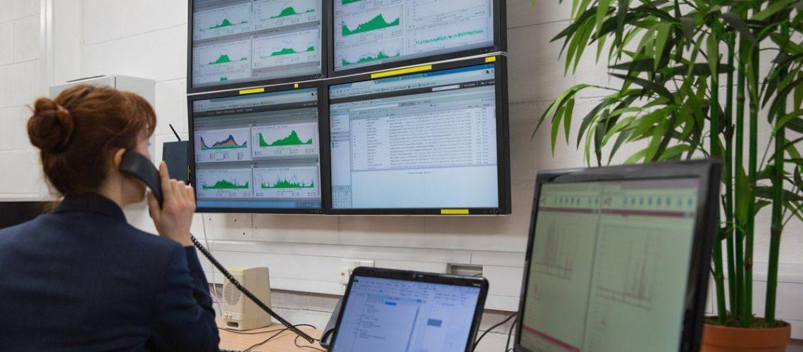 Our service desk monitors customer systems live, 24/7/365