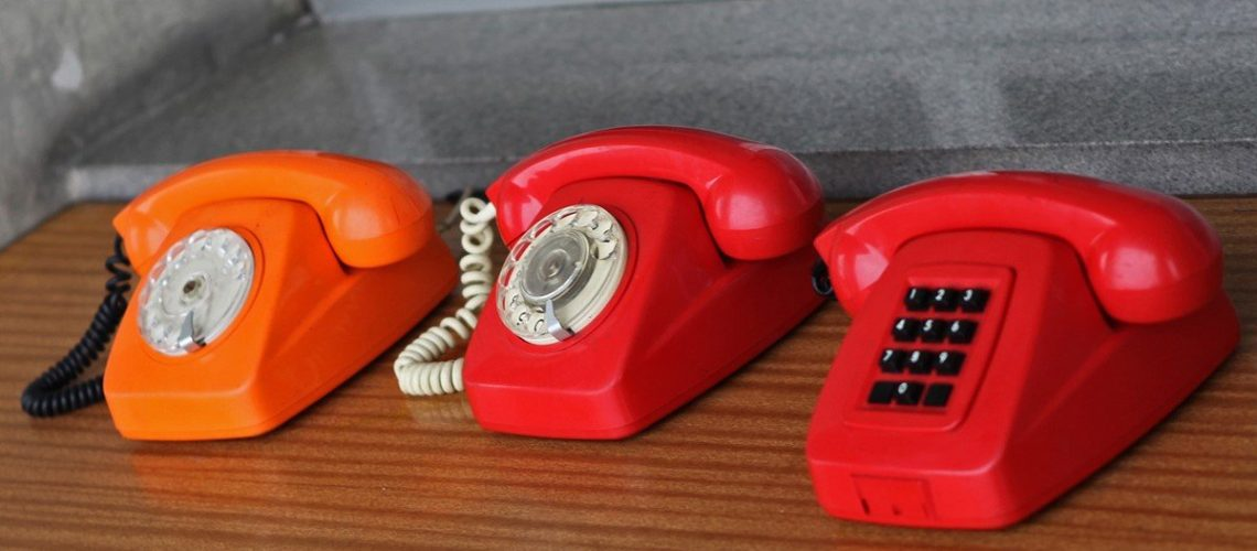 Different colour handsets
